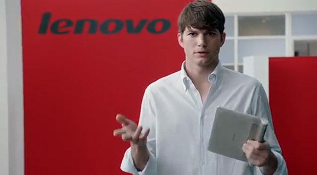 Lenovo assume l'attore Ashton Kutcher per il ruolo di Product Engineer