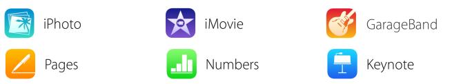 Gratis anche GarageBand: ecco le nuove icone ufficiali di iWork ed iLife per iOS 7