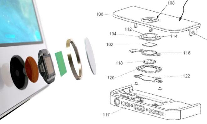 Apple brevetta la tecnologia Touch ID, il sensore di impronte digitali di iPhone 5S