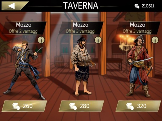 Assassin's Creed Pirates - Screenshot ITA#1