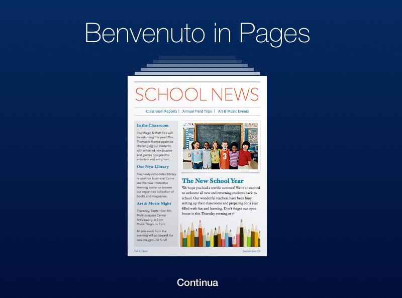 Pages, Numbers e Keynote per iCloud si aggiornano con la collaborazione in tempo reale, le cartelle e altro