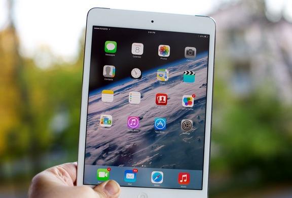 L'accuratezza cromatica del display di iPad mini retina è inferiore a quella della concorrenza
