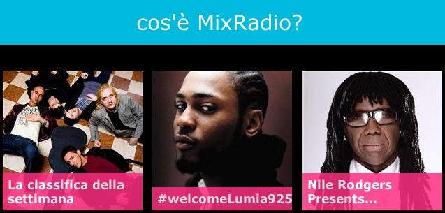 Ecco svelato il servizio MixRadio di Nokia
