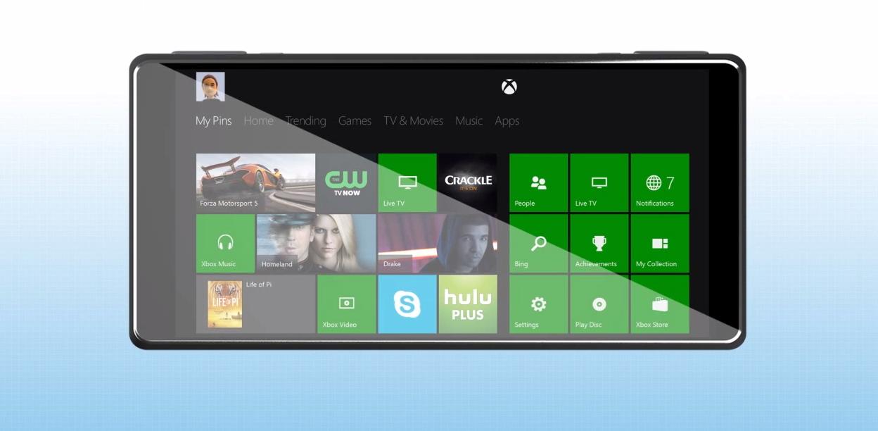 Xbox One: ecco come sarebbe se fosse anche uno smartphone | Concept [Video]