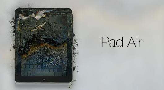 iPad air esploso