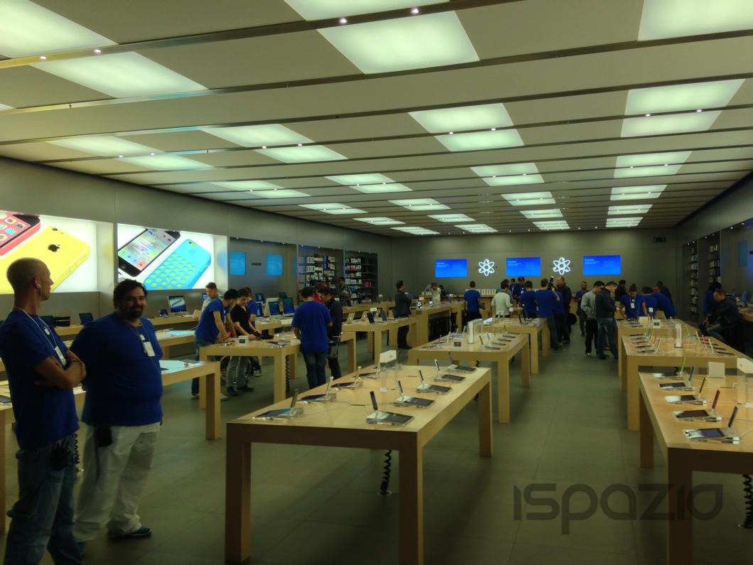 Dayone ipad air ispazio all 39 apple store campania a for Apple store campania