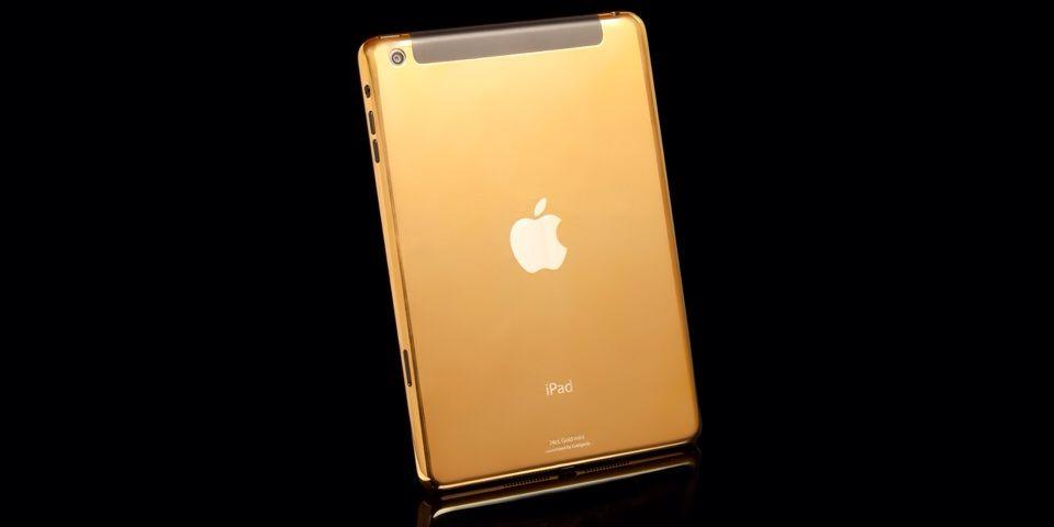 Goldgenie offre iPad Air e iPad mini placcati d'oro