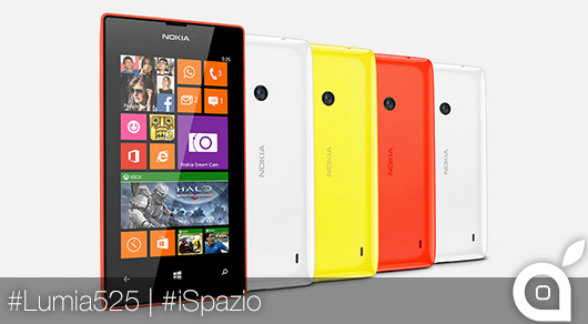 Nokia presenta il Lumia 525: nuovo Windows Phone entry level