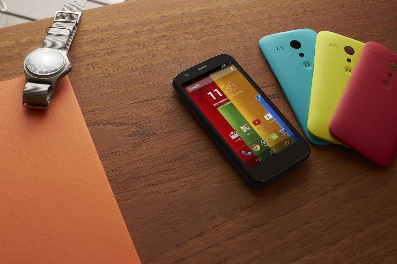 Motorola: il display del nuovo Moto G è migliore di quello dell'iPhone 5S