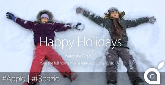 Apple addobba la propria homepage in occasione del Natale