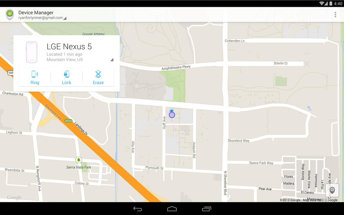 Trova il mio iPhone anche per Android con l'applicazione di Google Gestione Dispositivi