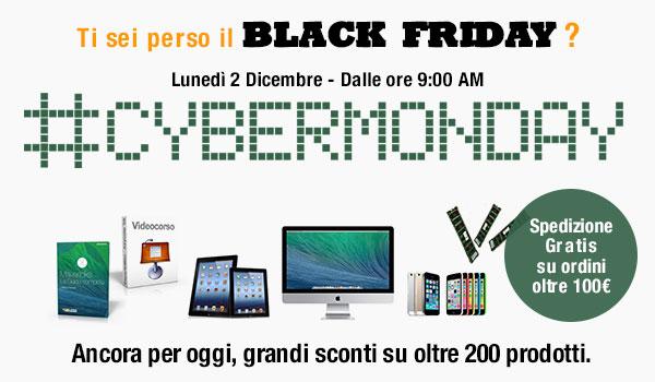 Vi siete persi il Black Friday? Seconda chance su BuyDifferent: il Cyber Monday, con prezzi superscontati su oltre 200 prodotti