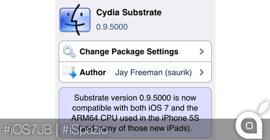 cydia mobile substrate 0.9.5000