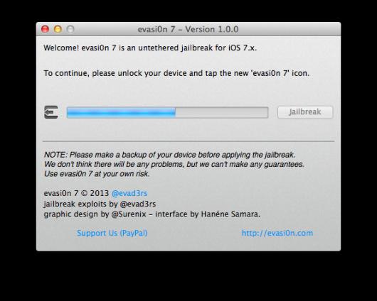 iSpazio-Jailbrek iOS 7- evation- iPhone 5s-2