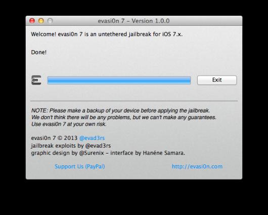 iSpazio-Jailbrek iOS 7- evation- iPhone 5s-20