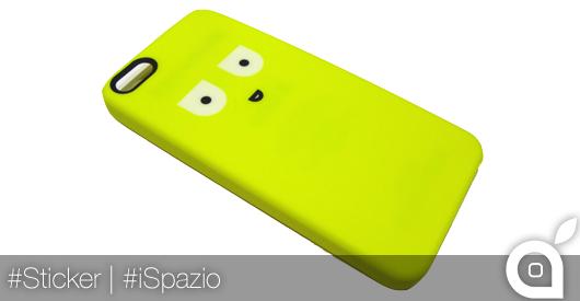 La custodia per iPhone 5/5S prende vita grazie agli sticker Monscot | iSpazio Product Review