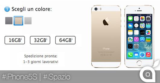 iphone 5s italia apple online store