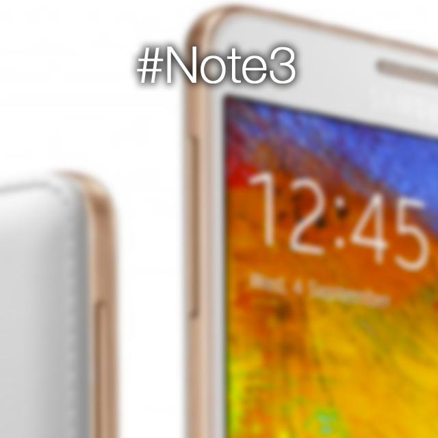 Galaxy Note 3 Gold: Samsung conferma le nuove colorazioni del suo phablet