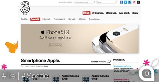 tre italia ispazio supervaluta diamond iphone 5s