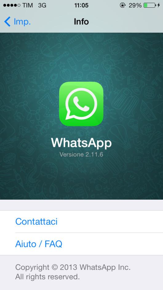whatsapp 2.11.6 ispazio