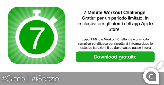 Apple gratis workout
