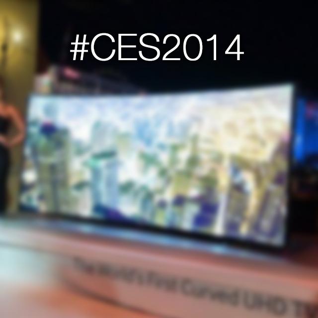 """Samsung presenta """"Bendable TV"""", il televisore che si piega con un pulsante   CES 2014"""