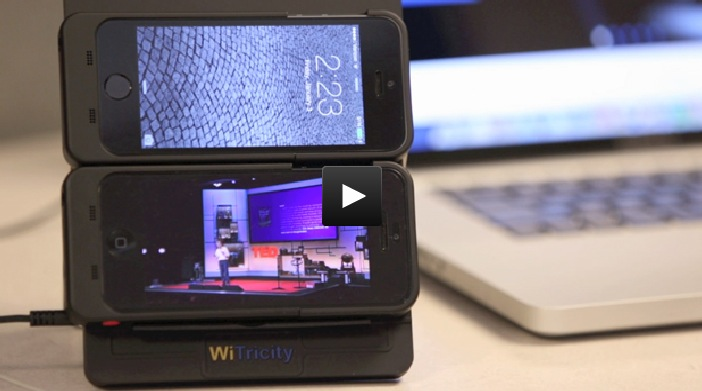 WiTricity presenta un sistema di ricarica wireless per iPhone | CES 2014 [Video]
