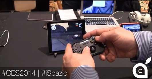 Stratus: il primo Game Controller Bluetooth compatibile con iOS 7 | CES 2014 [Video]