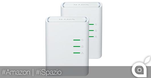 Sconto del 50% per gli adattatori D-Link PowerLine AV 500 Mbps: porta internet in qualunque punto della casa
