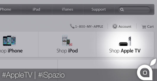 apple tv ispazio apple online store