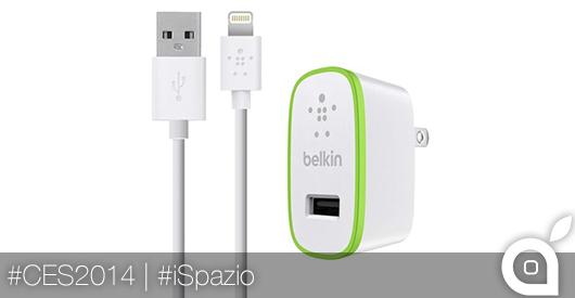 Belkin presenta BoostUp, il dispositivo che velocizza le ricariche di iPhone | CES 2014