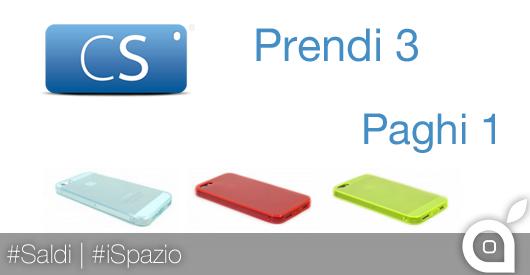Saldi CoverStyle: 3 custodie per iPhone 5/5S Ultra sottili Flessibili Anti-Polvere al prezzo di 1