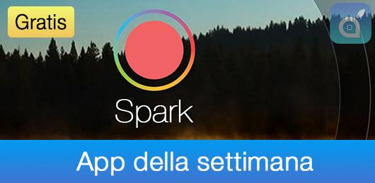 fotocamera spark