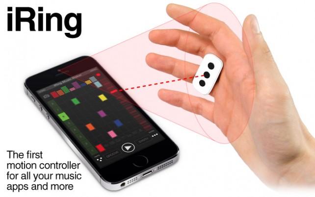 iRing, l'anello per controllare le applicazioni musicali e non solo | CES 2014 [Video]