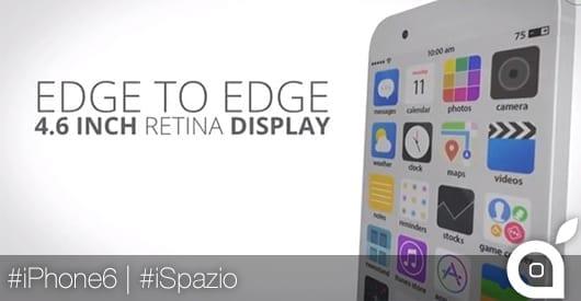 iPhone 6 con iOS 8: ecco come potrebbe essere il prossimo smartphone da 4.6 pollici