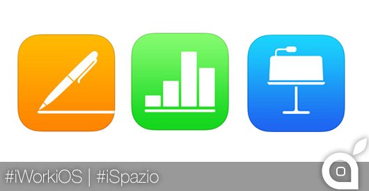 Apple aggiorna la suite iWork per iOS: Pages, Numbers e Keynote