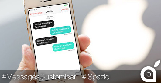 messages customiser
