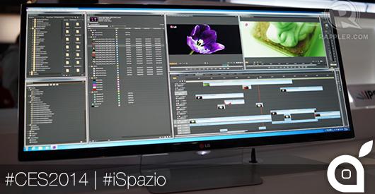 LG presenta il primo monitor ultra-wide QHD da 34 pollici | CES 2014 [Video]
