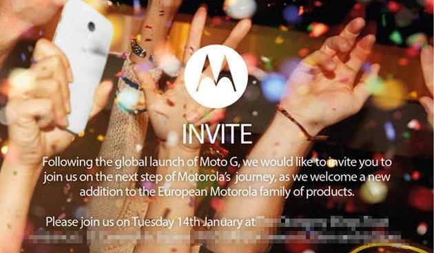 Motorola annuncia un nuovo evento europeo per il Moto X