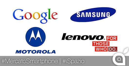 Motorola-Lenovo, Google-Samsung: ecco come cambia il mercato degli smartphone