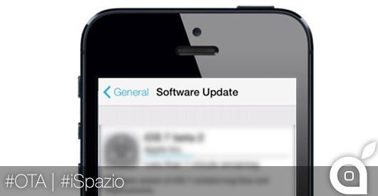 Novità iOS 7.1: si potranno cancellare gli aggiornamenti Over The Air