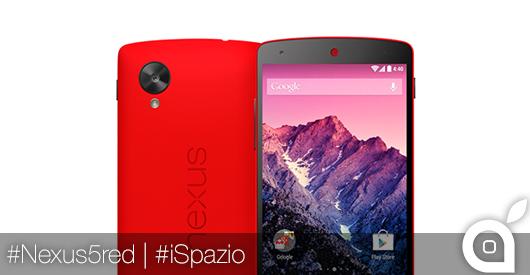 Nexus 5: ecco le prime foto del Googlefonino in un'inedita veste rossa [Video]
