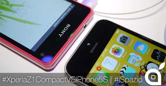 sonyxperiaz1compactVSiphone5s