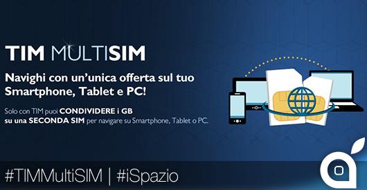 TIM MultiSIM anche per i clienti TIM Young: naviga con un'unica offerta su smartphone, tablet e PC!