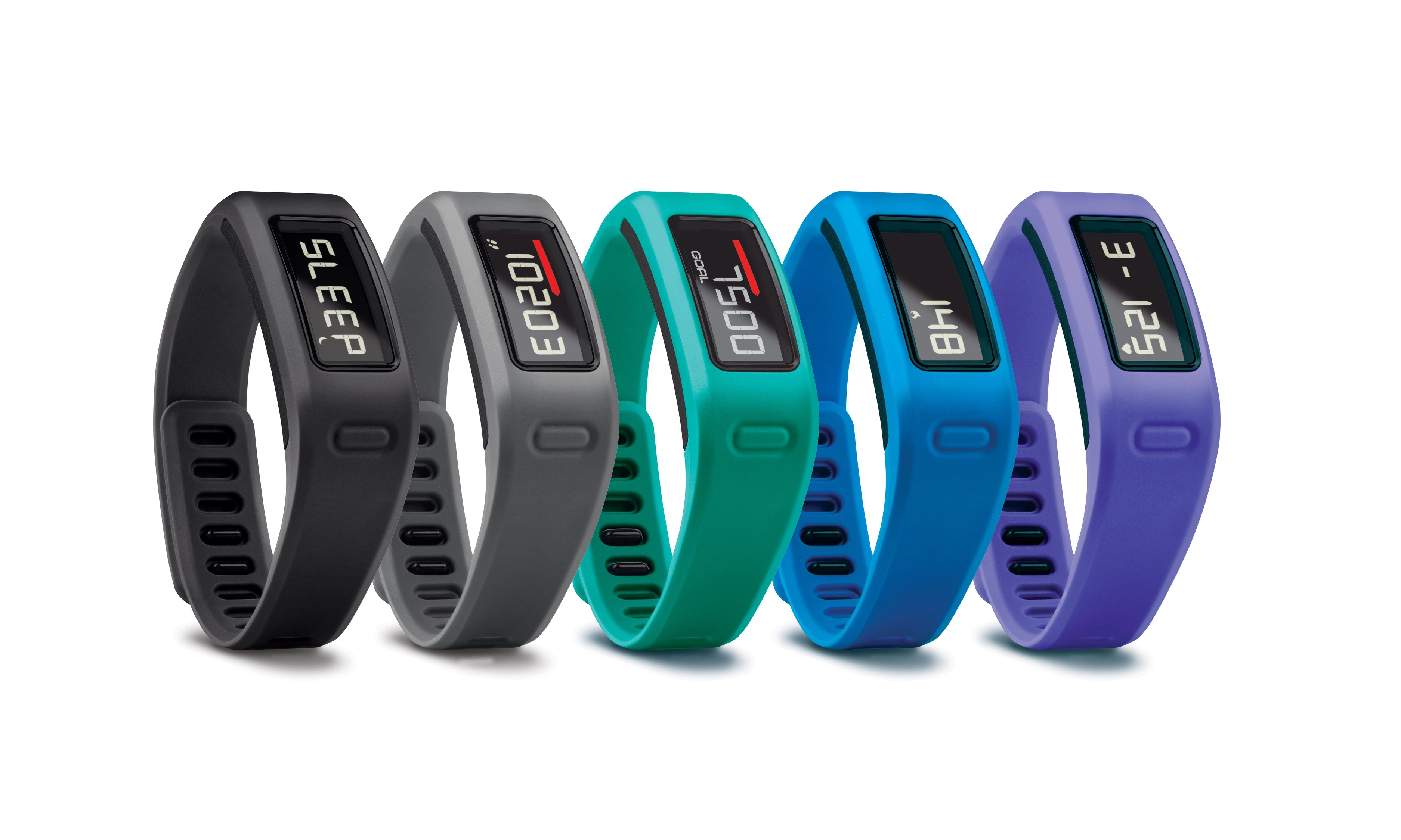 Garmin entra nel mondo del fitness tracking con il braccialetto Vivofit | CES 2014