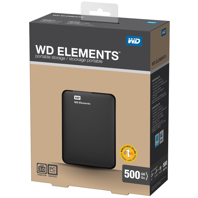 Hard disk WD Elements da 500 GB a meno di 50€ spedizione inclusa!