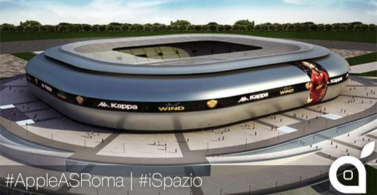 Nuovo stadio AS Roma: il presidente contatta Apple per Store e sponsorizzazione