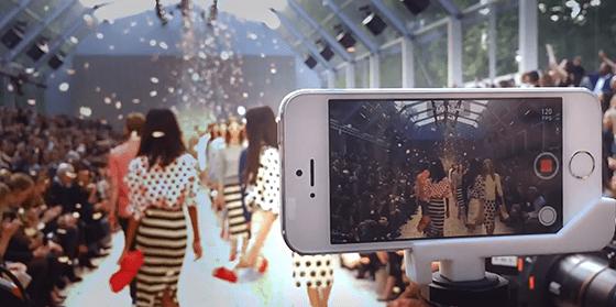 Apple pubblica un nuovo video: iPhone 5S per riprese professionali alla sfilata di Burberry