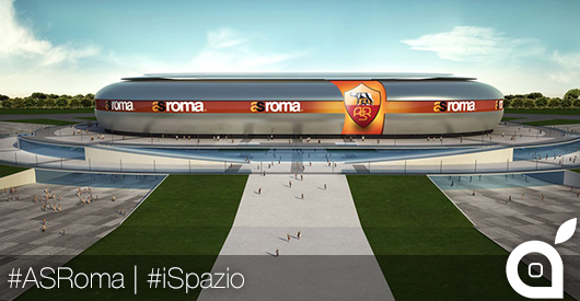 La AS Roma vuole un Apple Store all'interno del nuovo stadio, e non solo!