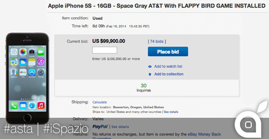 asta iPhone flappy birds